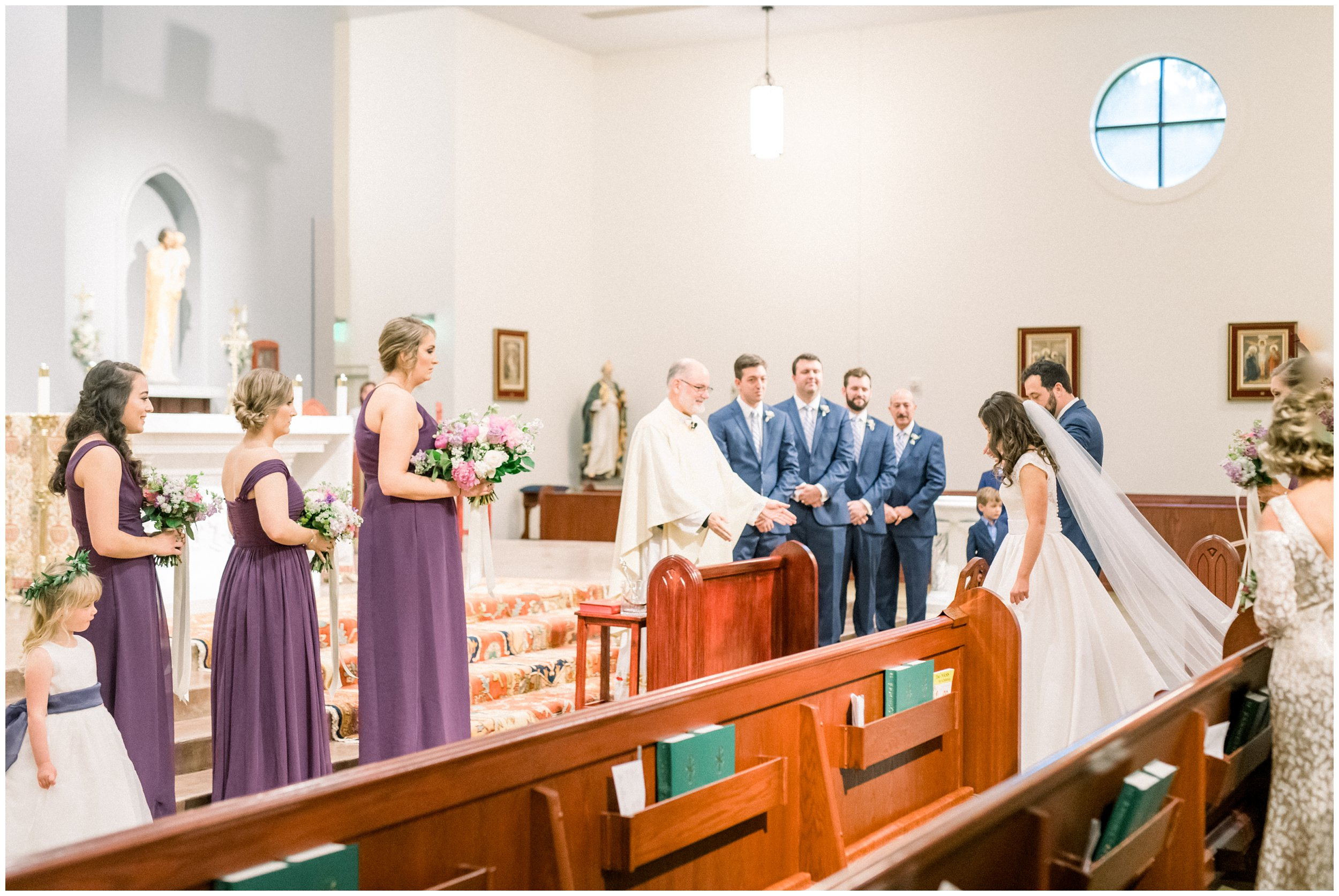 beautiful columbia church wedding
