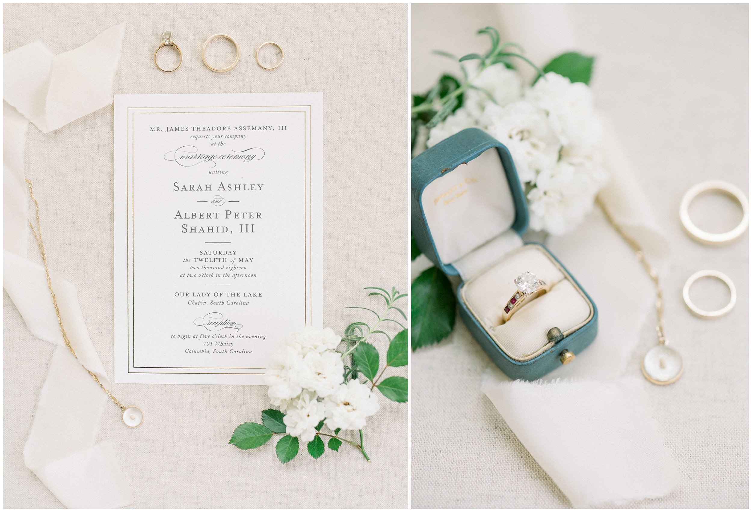 beautiful wedding details