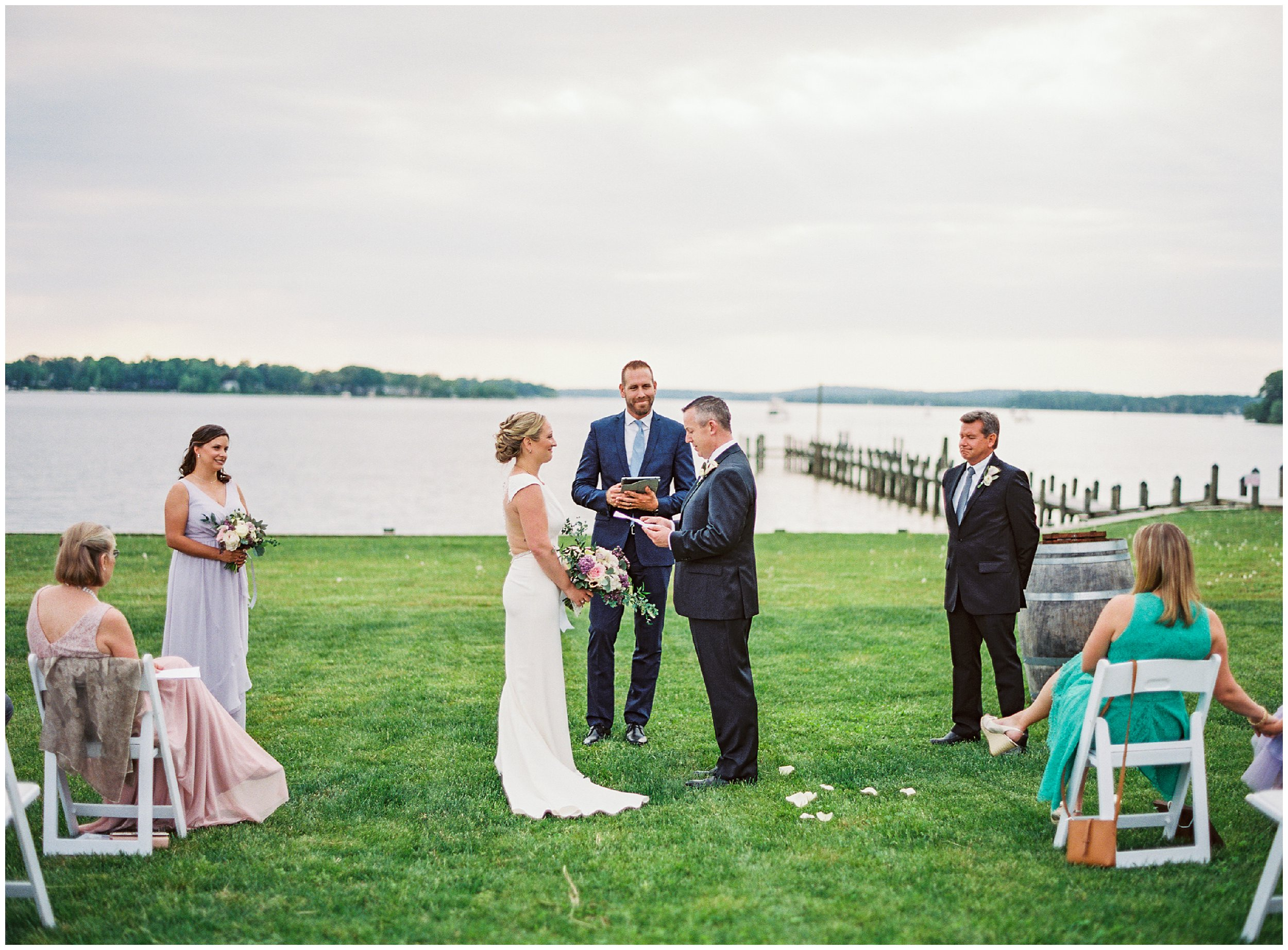 beautiful maryland outdoor wedding