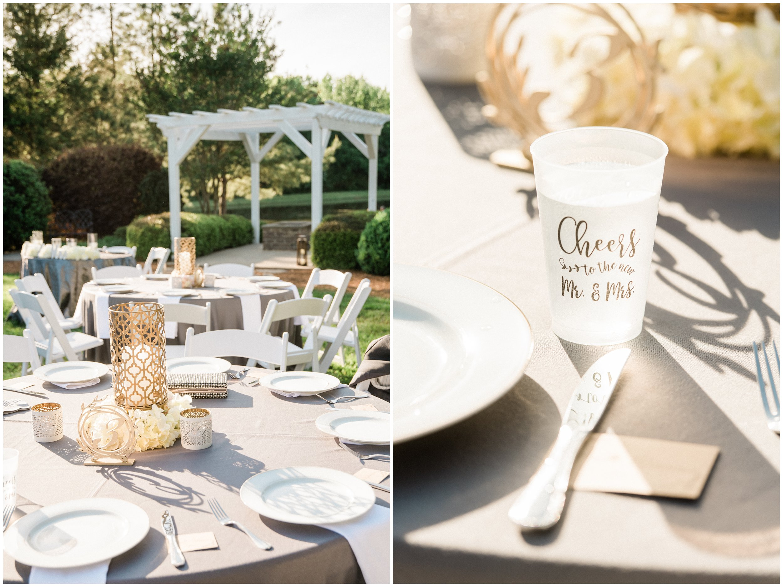 outdoor charlotte wedding details