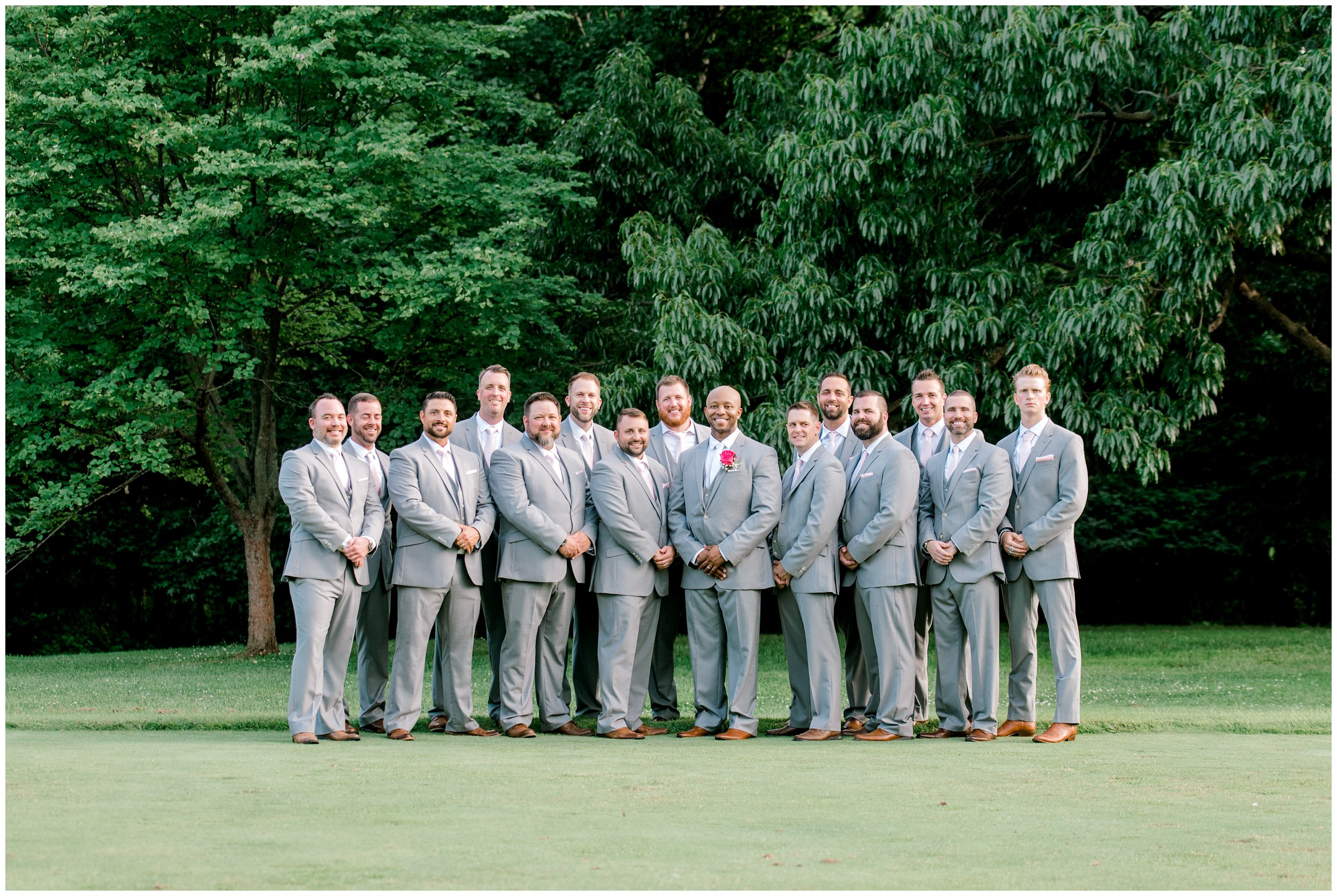 Grooms party at Maryland Wedding