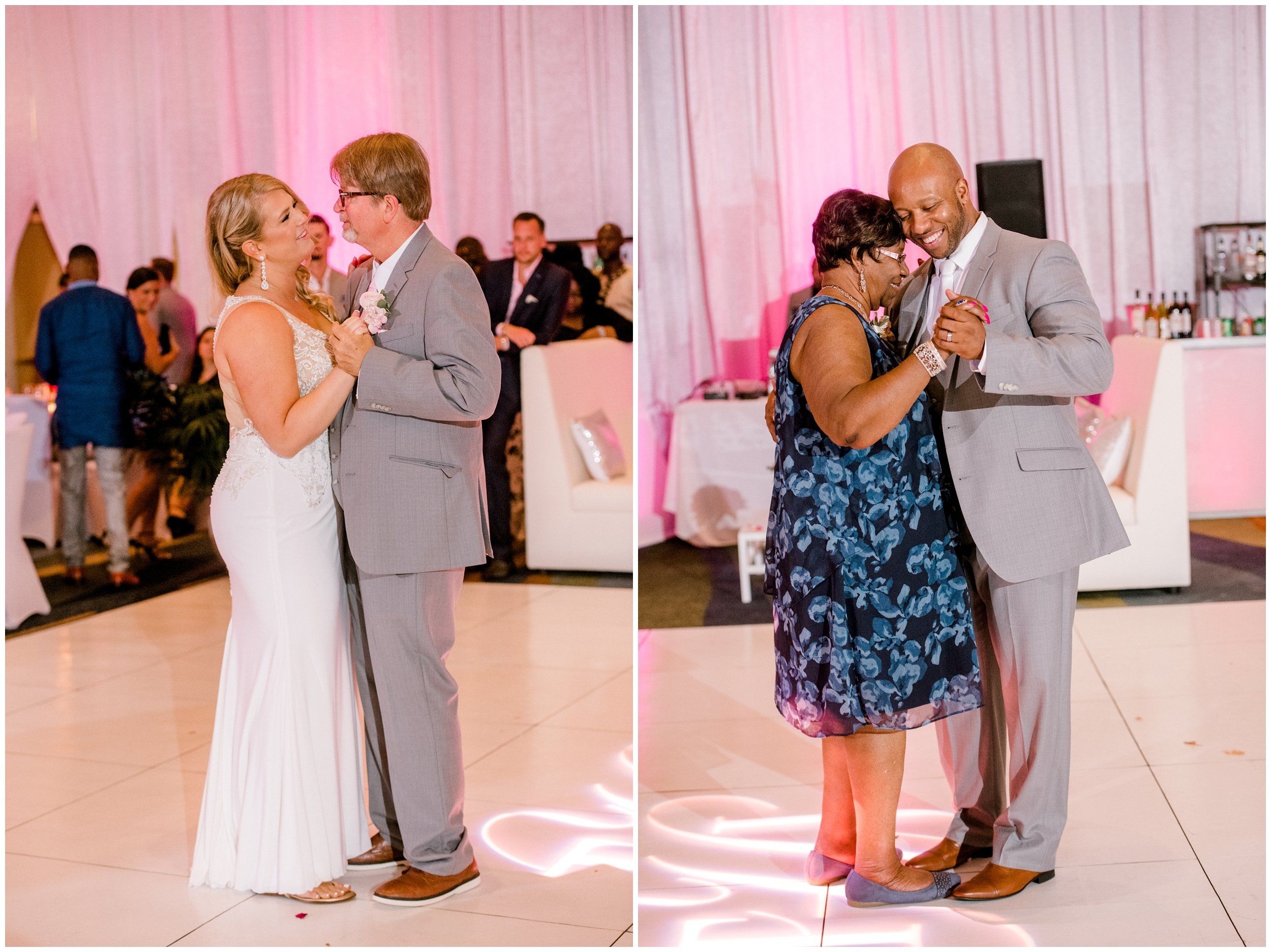 Father daughter dance, Mother son dance