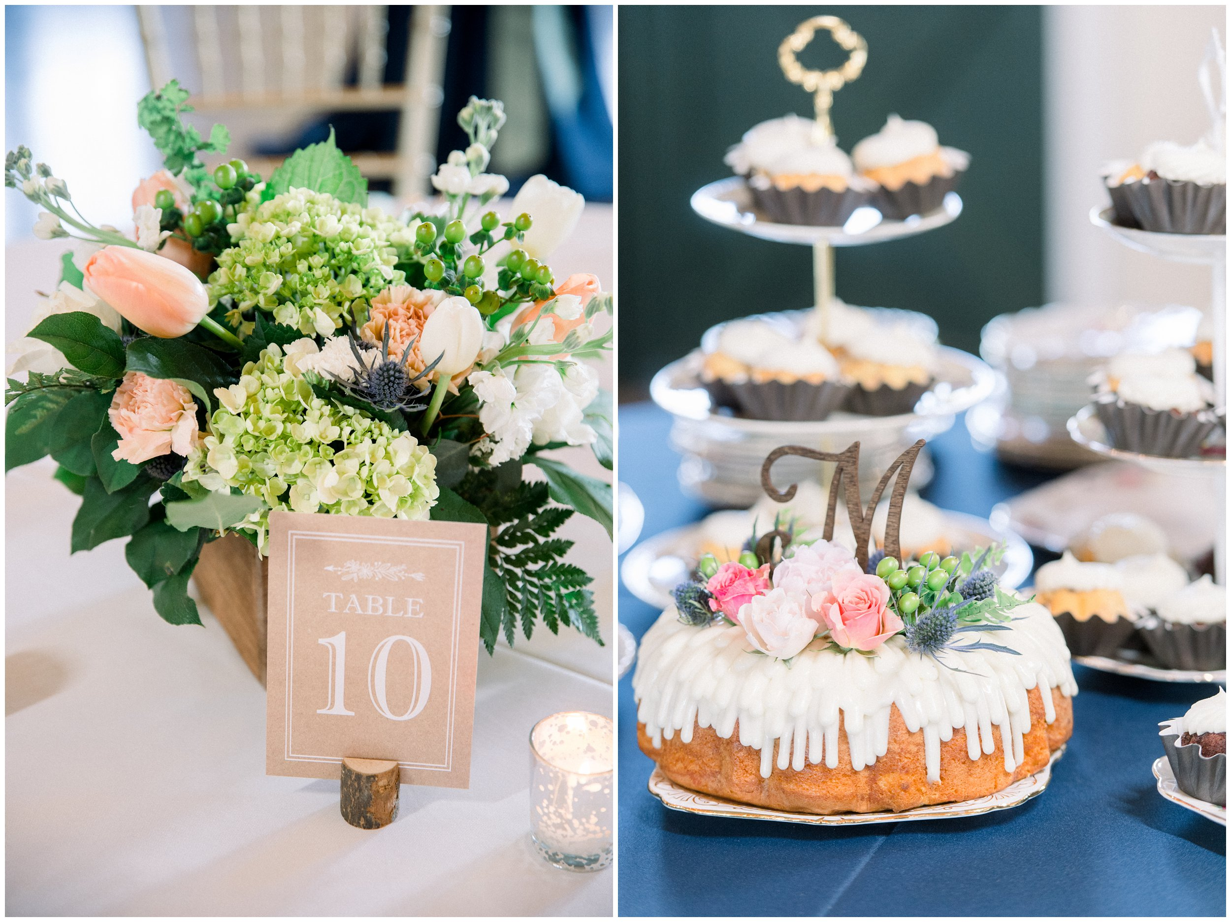 tablescape and cake details