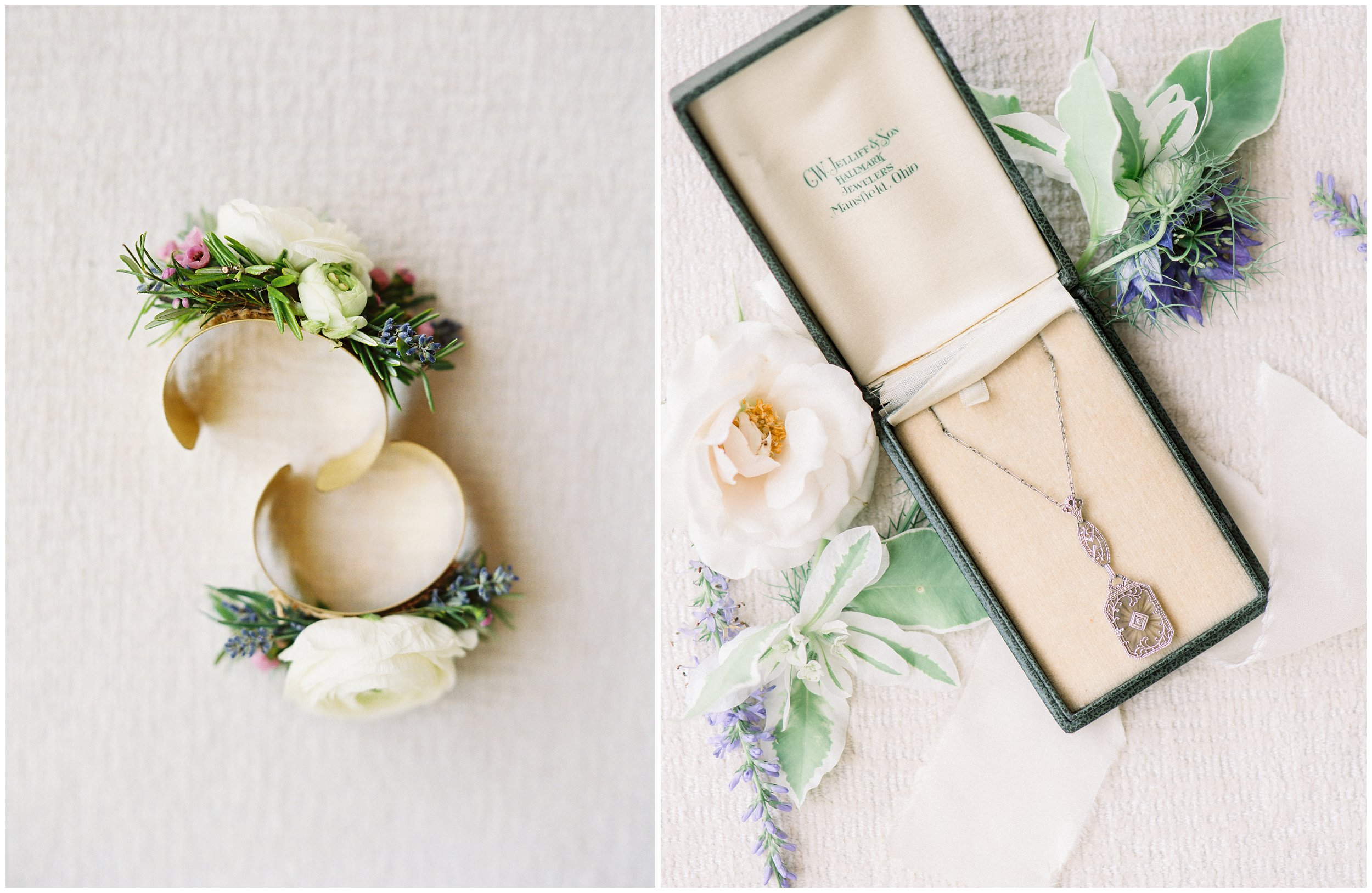 beautiful rock hill wedding details