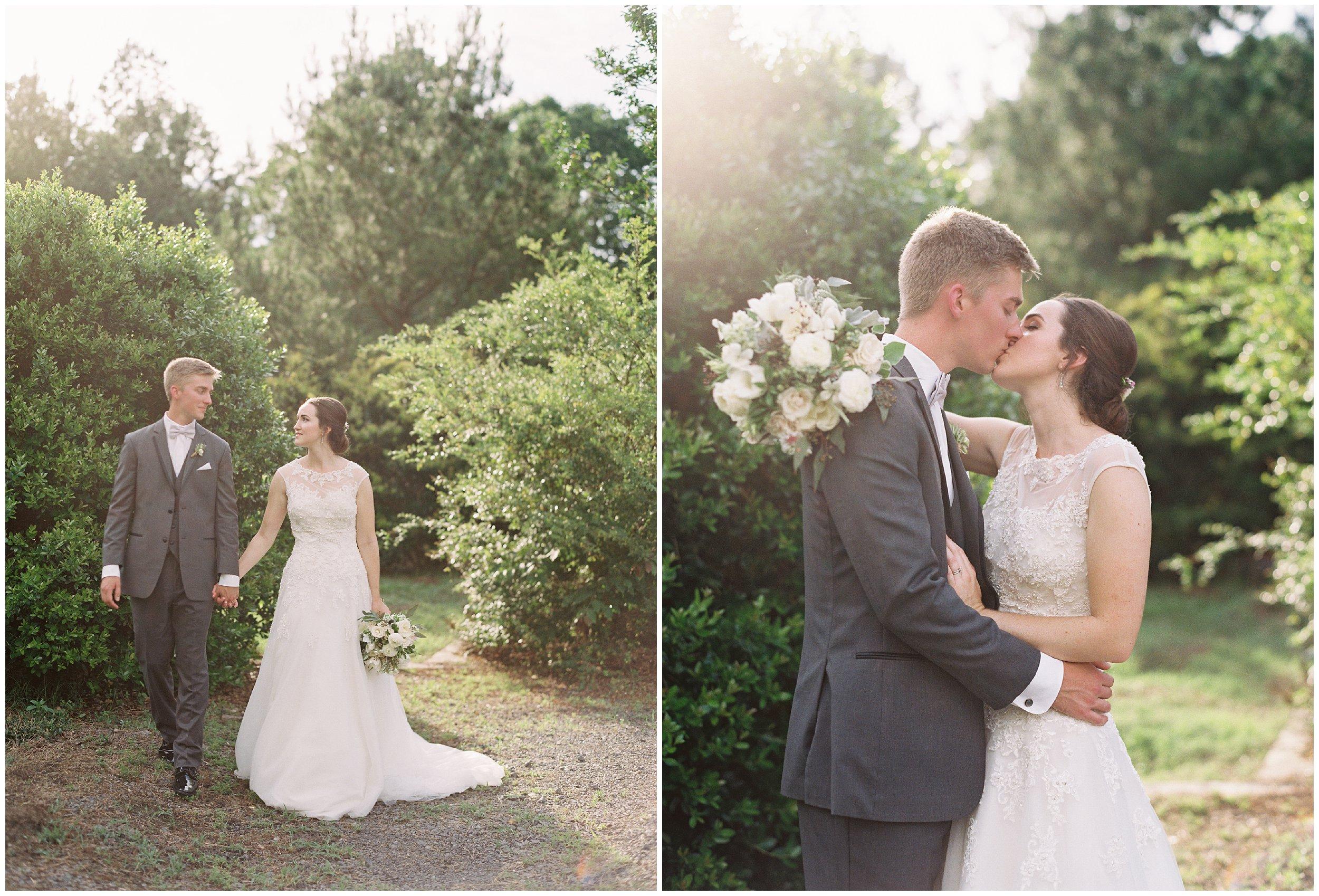 gorgeous outdoor wedding portraits