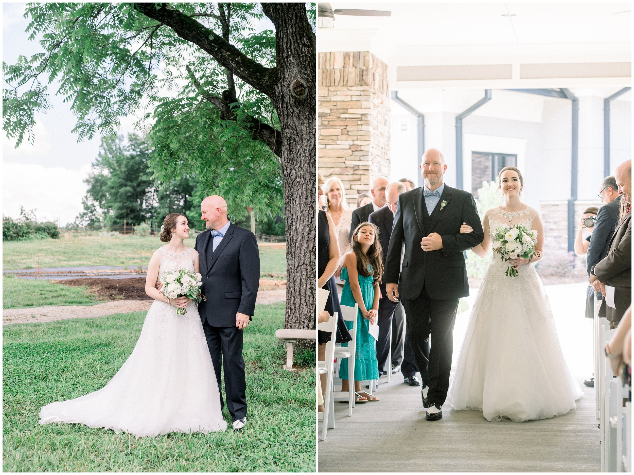 father daughter pictures, father walking bride down the aisle