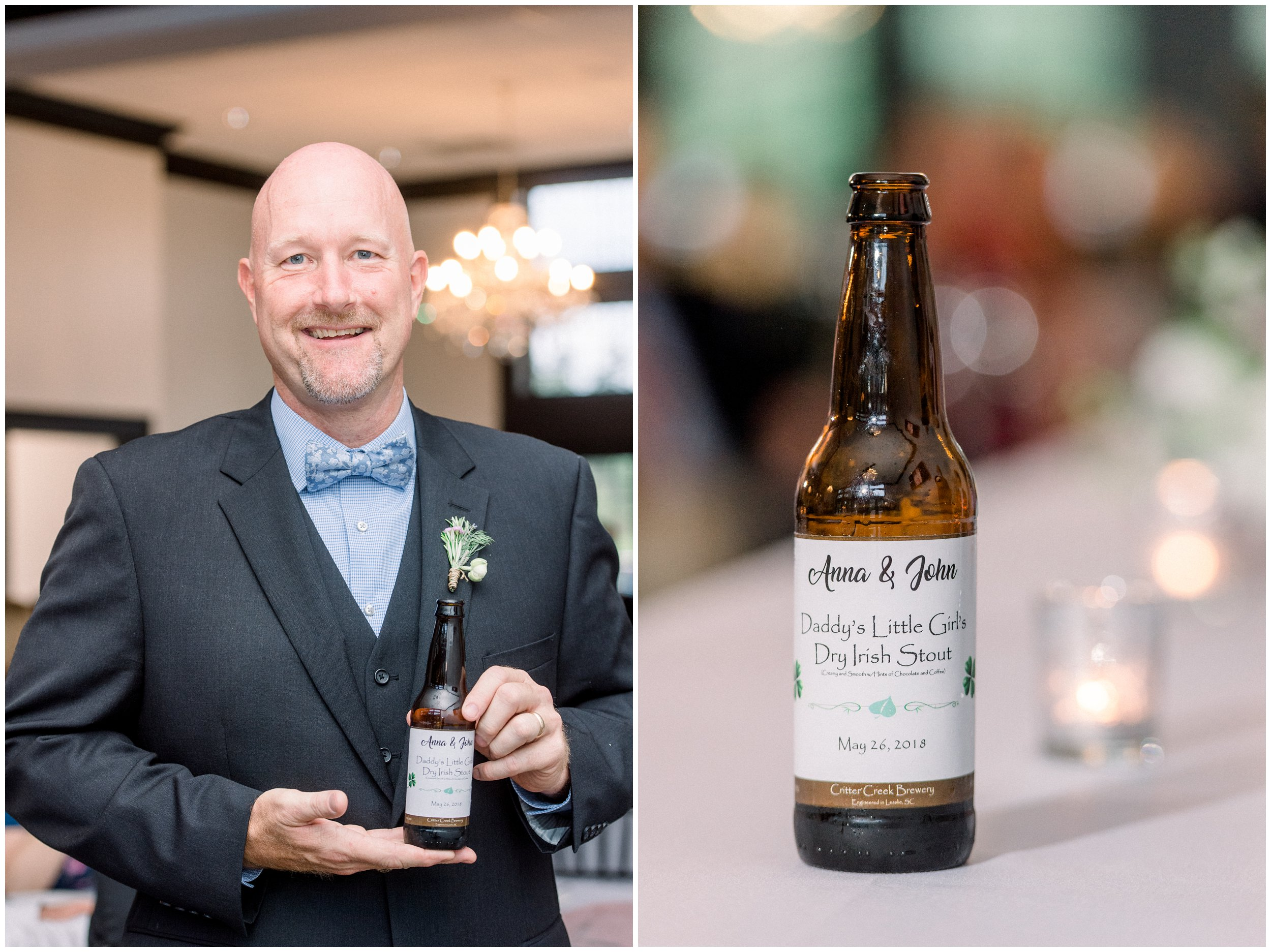 beer brewed by the father of the bride